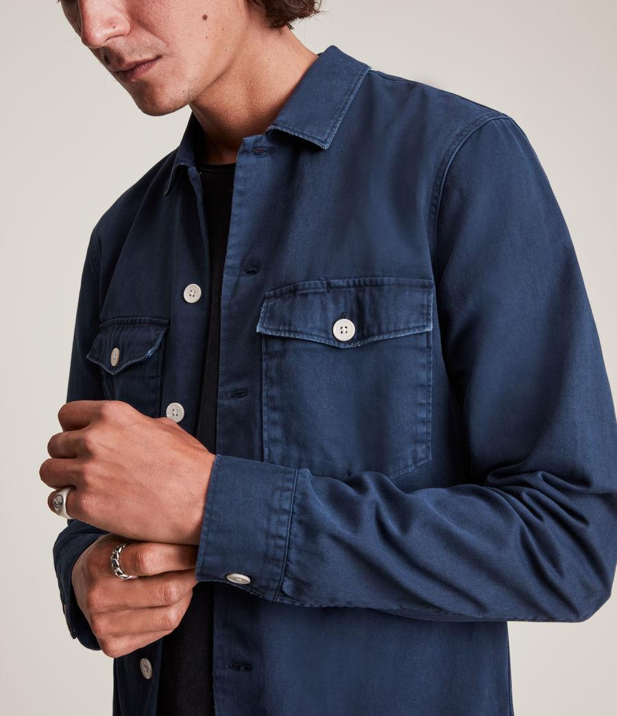 Hommes Spotter Shirt (deep_gulf_blue) - Image 2