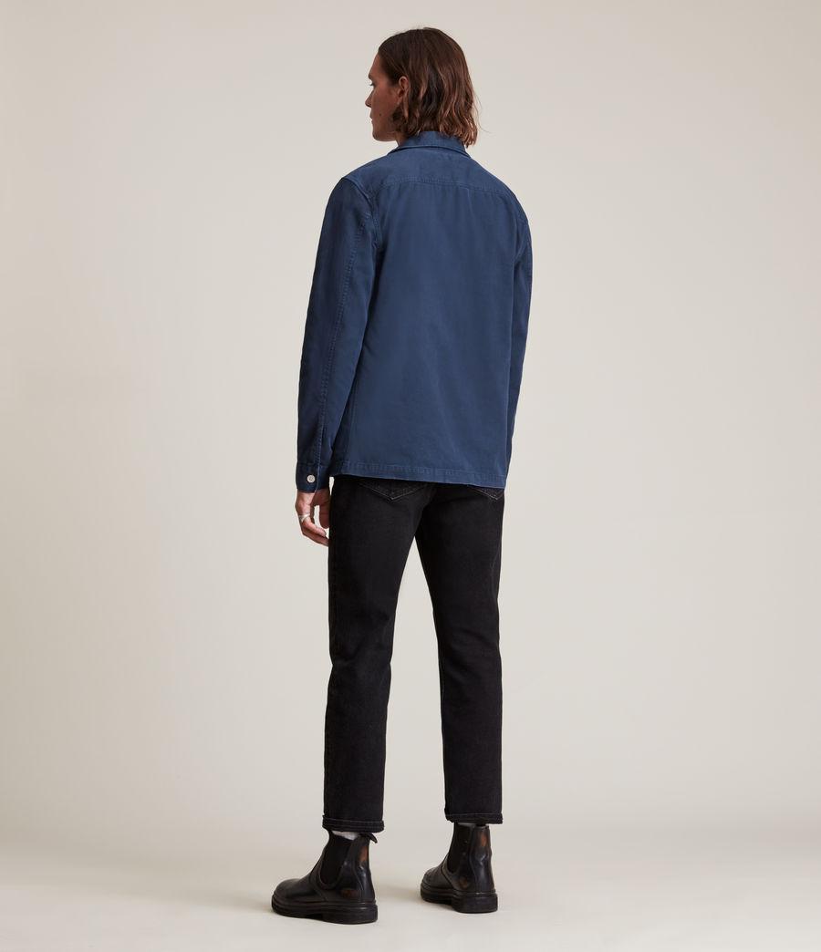 Hommes Spotter Shirt (deep_gulf_blue) - Image 4