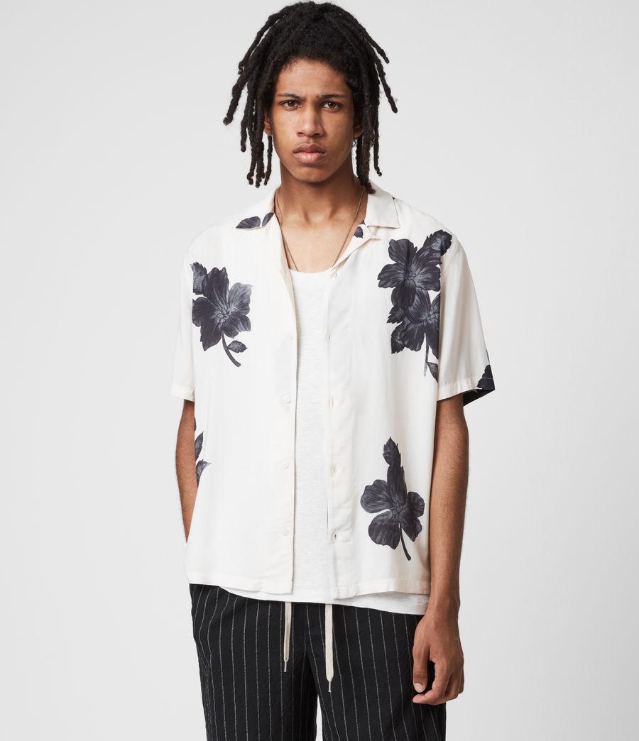 Men's Bouquet Shirt (ecru) - Image 1