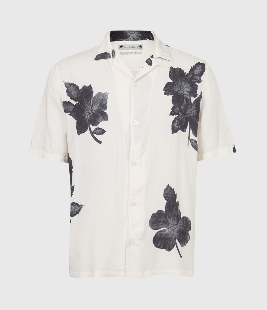 Men's Bouquet Shirt (ecru) - Image 2