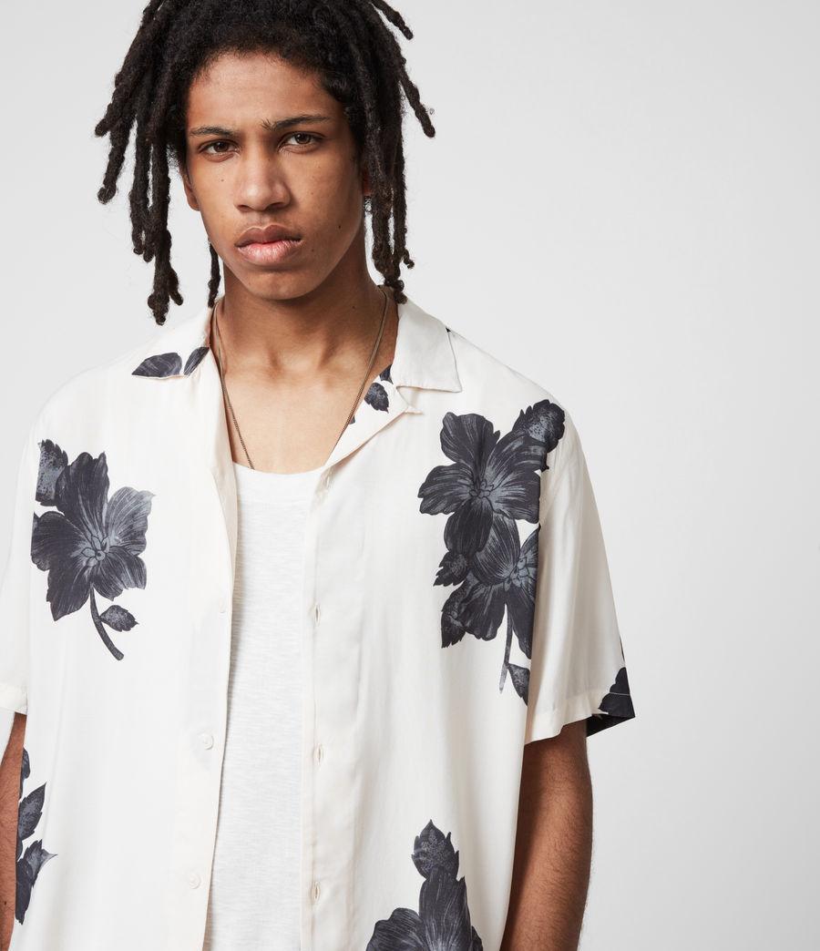 Men's Bouquet Shirt (ecru) - Image 4