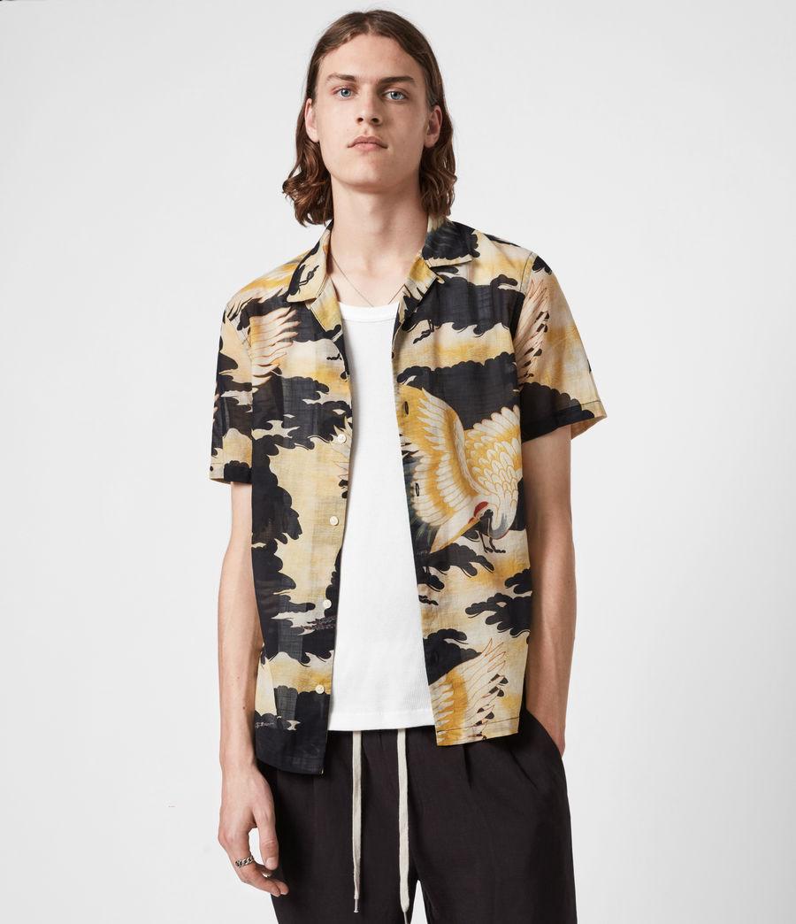 Men's Miyako Shirt (jet_black) - Image 1