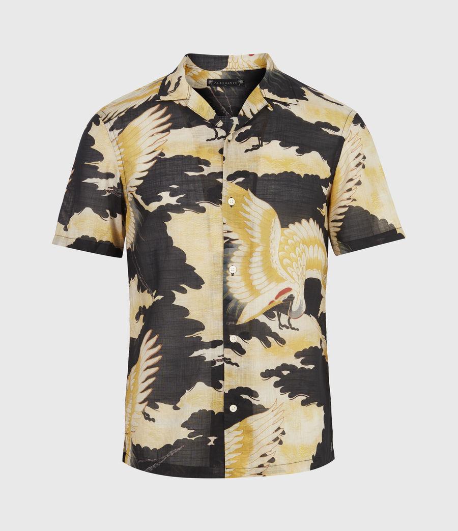 Men's Miyako Shirt (jet_black) - Image 2