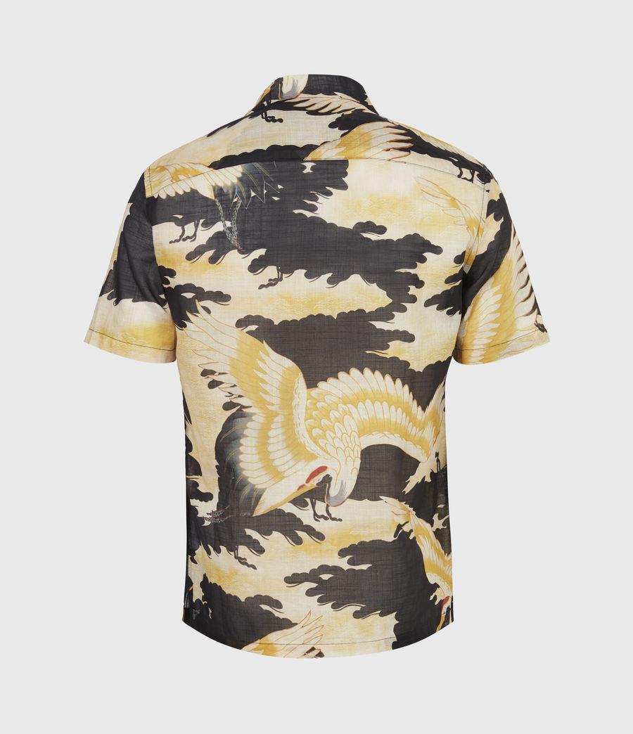 Men's Miyako Shirt (jet_black) - Image 3