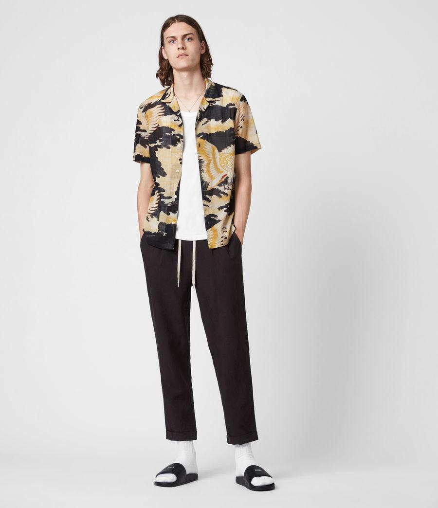 Men's Miyako Shirt (jet_black) - Image 4