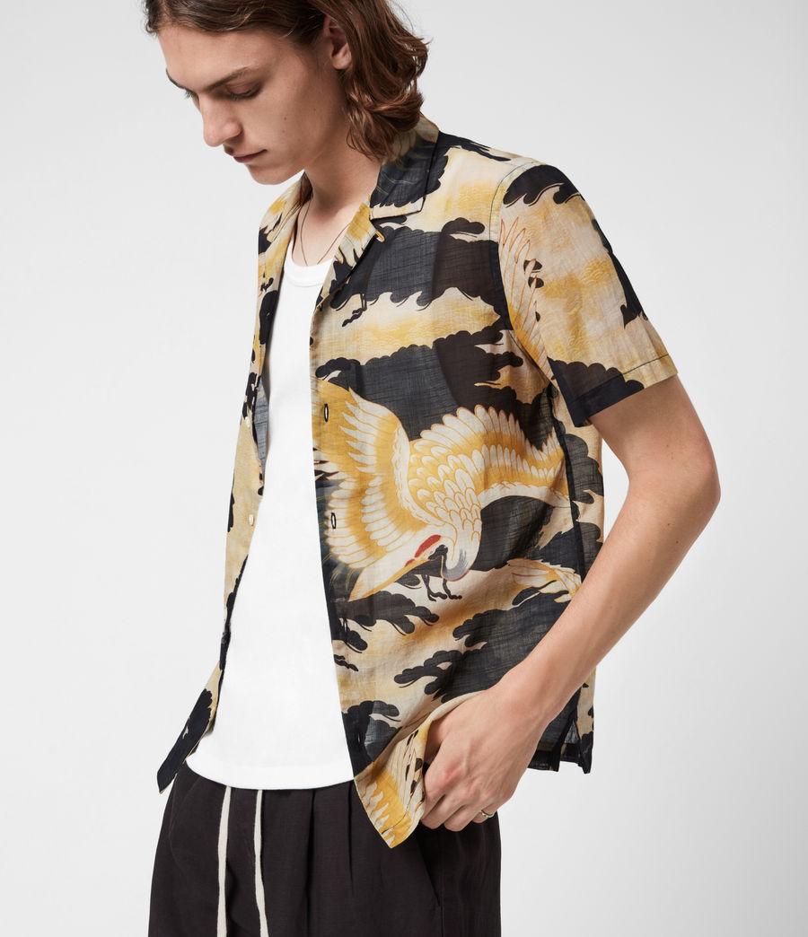 Men's Miyako Shirt (jet_black) - Image 6