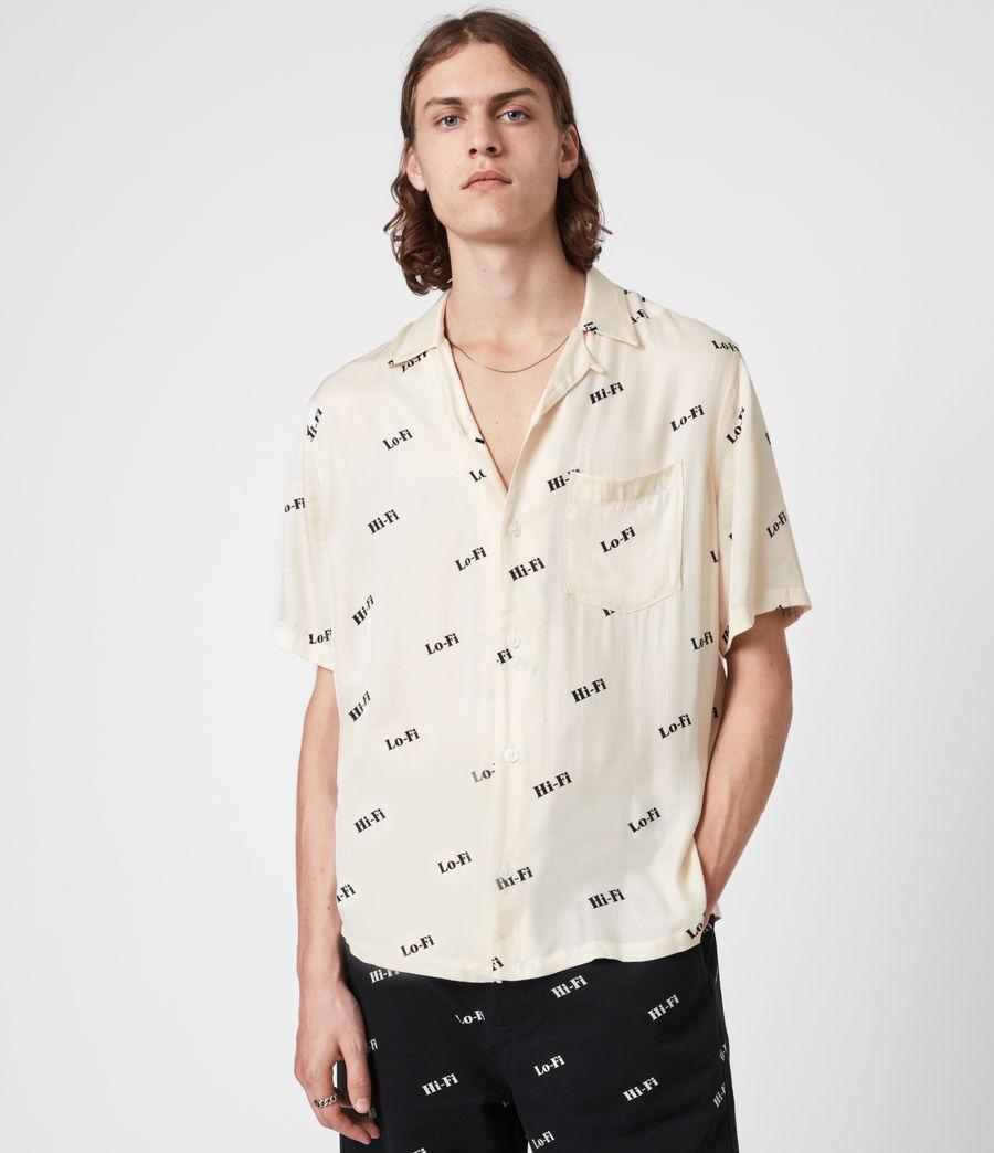 Herren Lo-fi Shirt (ecru) - Image 1