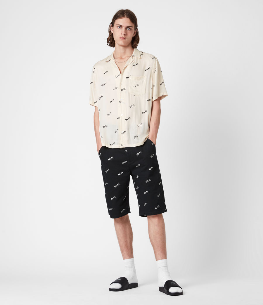 Herren Lo-fi Shirt (ecru) - Image 4