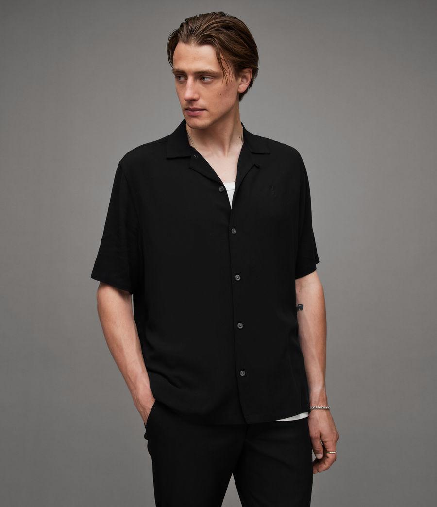 Men's Venice Shirt (black) - Image 1