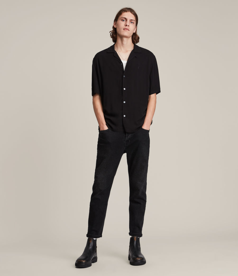 Men's Venice Shirt (black) - Image 3