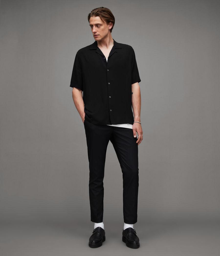 Men's Venice Shirt (black) - Image 4