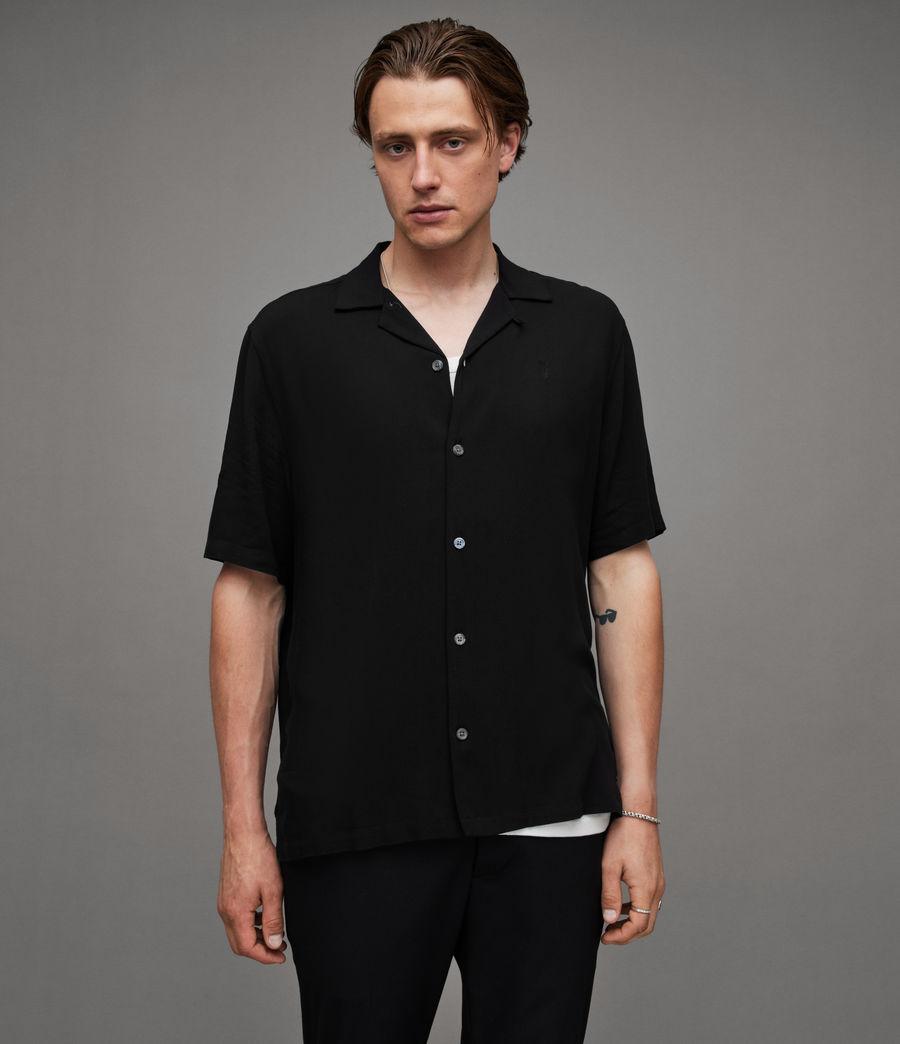 Men's Venice Shirt (black) - Image 5
