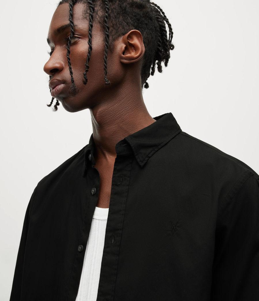 Men's Hawthorne Stretch Fit Shirt (black) - Image 2