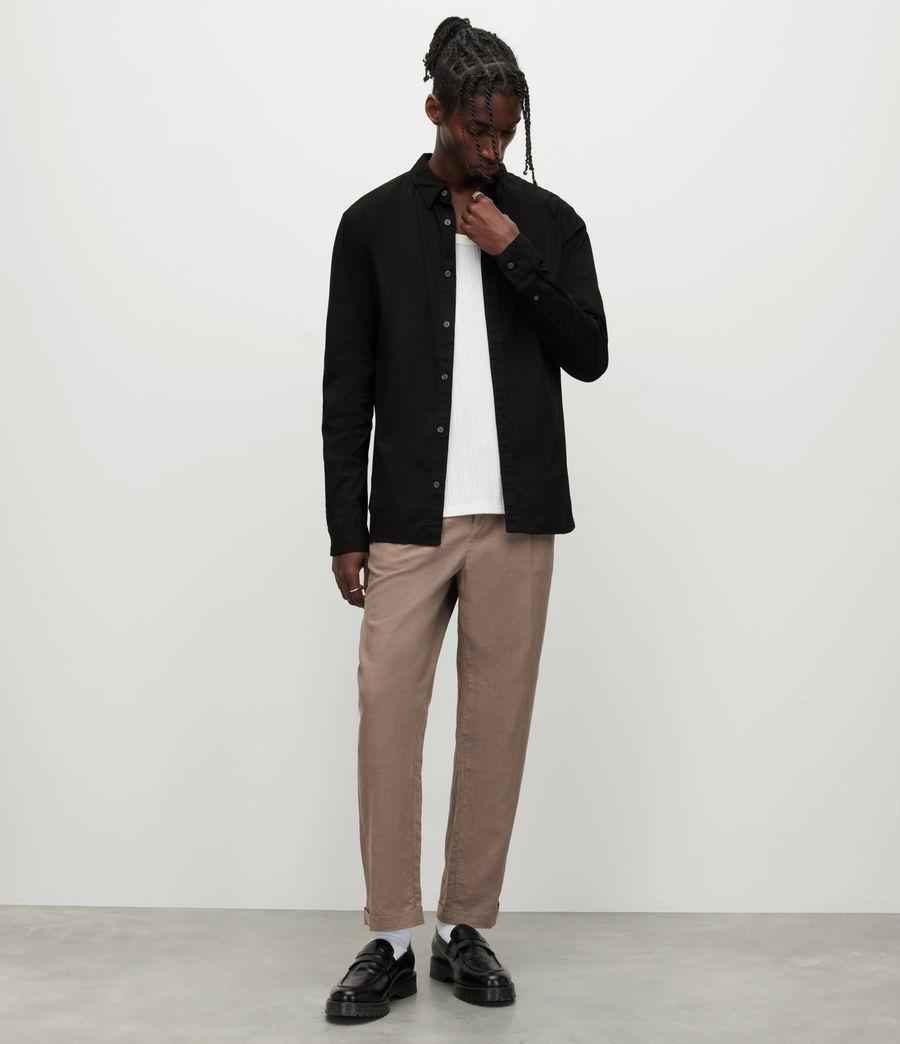 Men's Hawthorne Stretch Fit Shirt (black) - Image 3