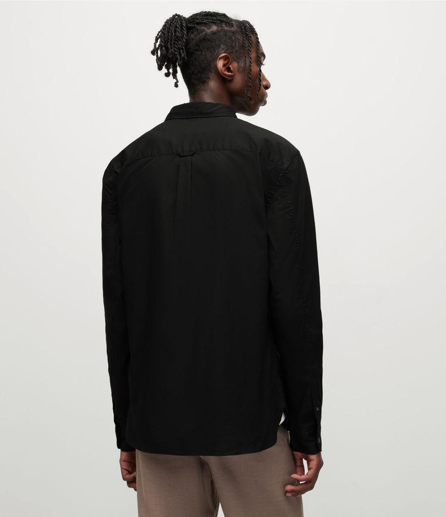 Men's Hawthorne Stretch Fit Shirt (black) - Image 5