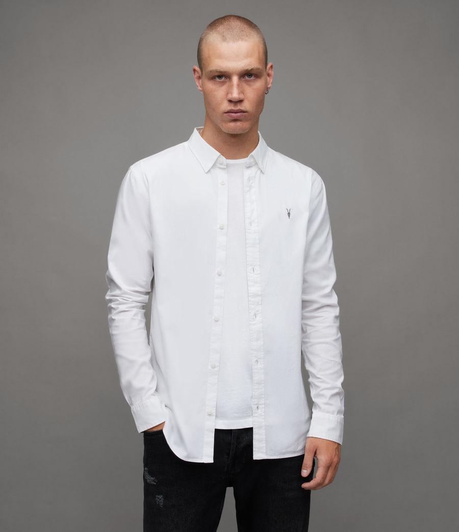 Men's Hawthorne Stretch Fit Shirt (white) - Image 1