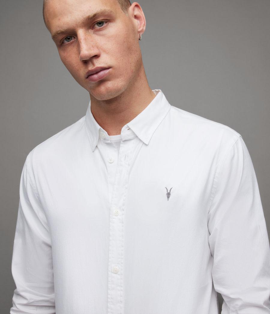 Men's Hawthorne Stretch Fit Shirt (white) - Image 2