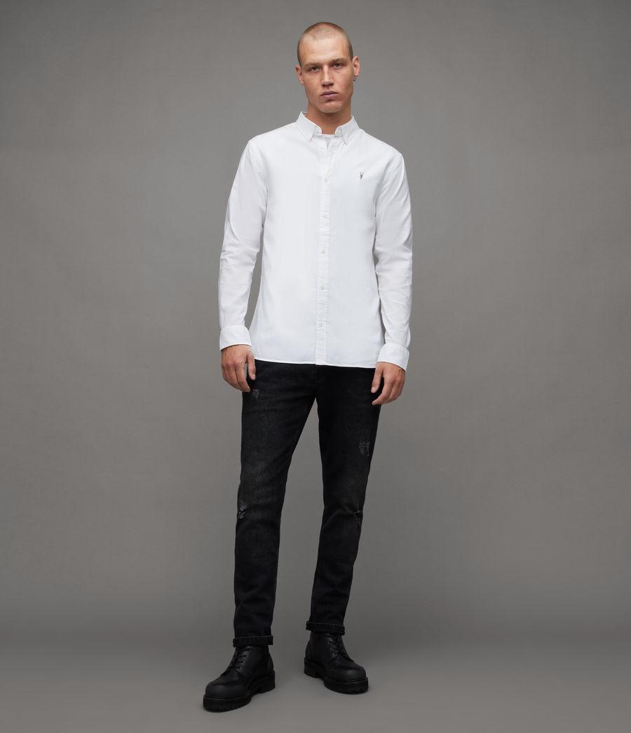 Men's Hawthorne Stretch Fit Shirt (white) - Image 3