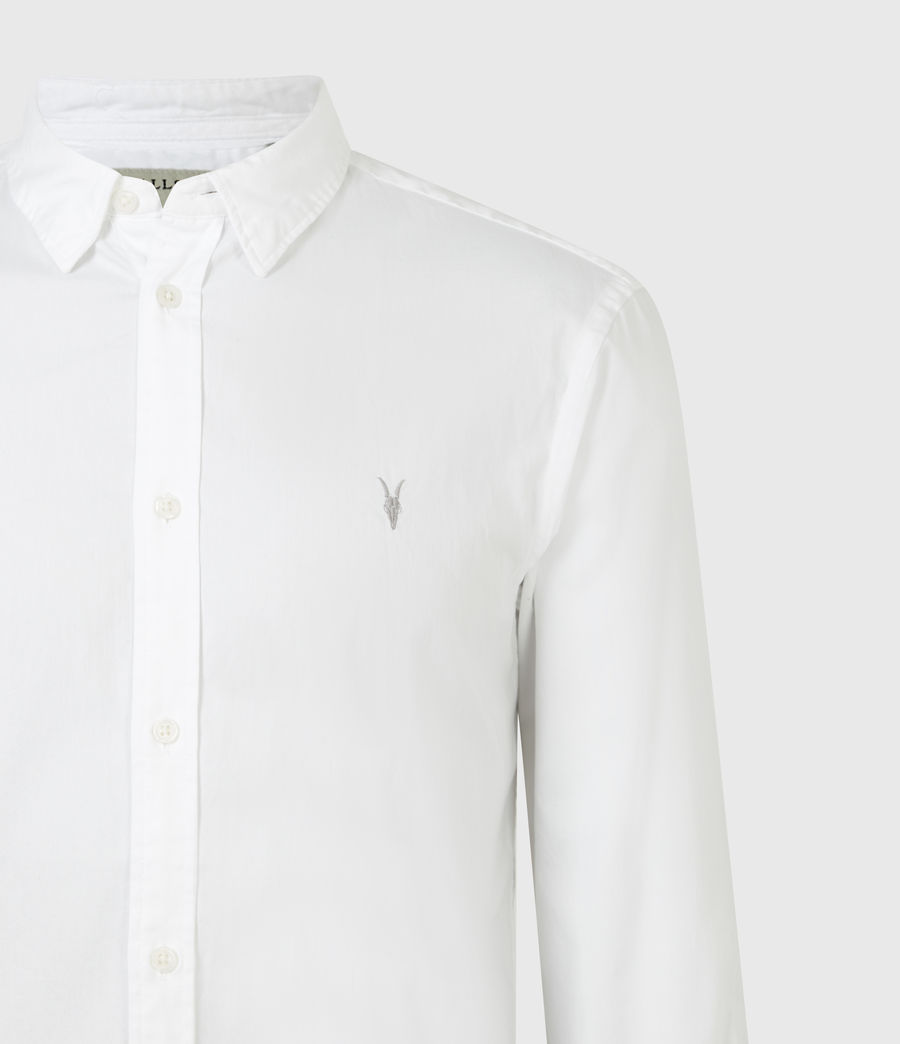 Men's Hawthorne Stretch Fit Shirt (white) - Image 5