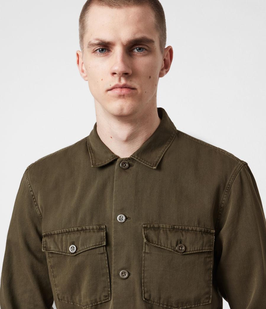 Men's Spotter Shirt (cargo_green) - Image 6