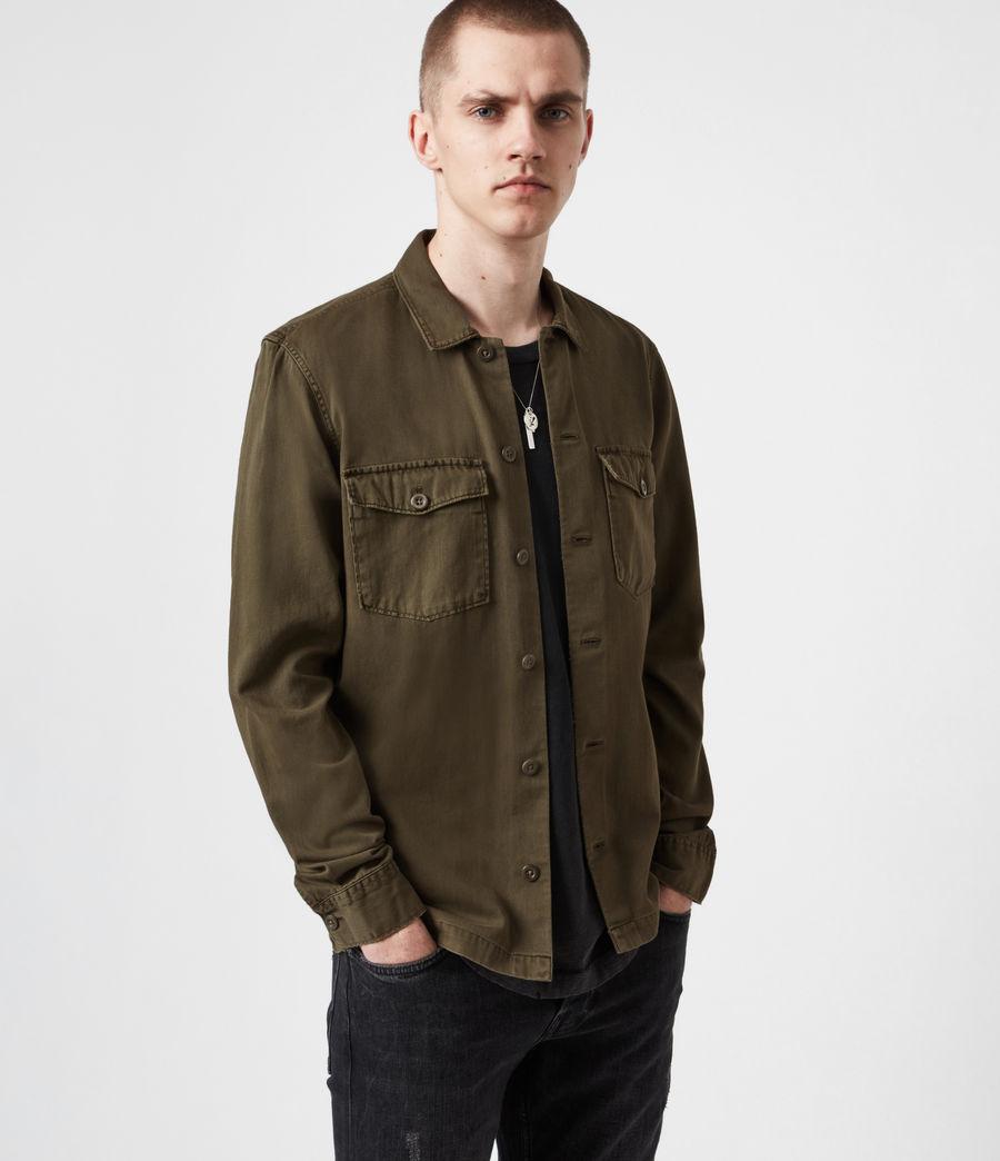 Men's Spotter Shirt (cargo_green) - Image 7