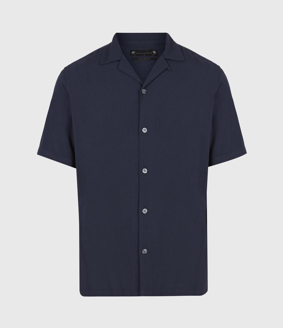 Herren Venice Shirt (ink_navy) - Image 2