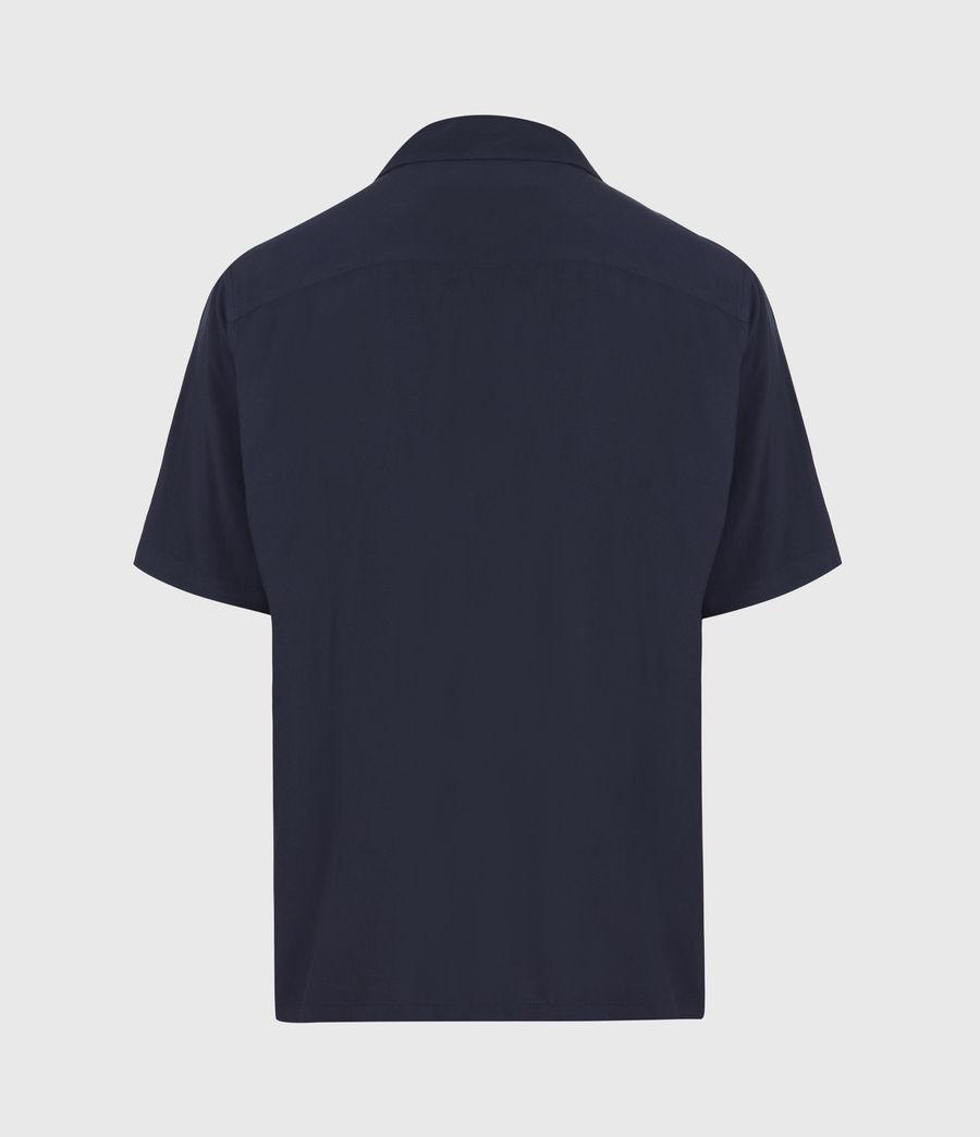 Herren Venice Shirt (ink_navy) - Image 3