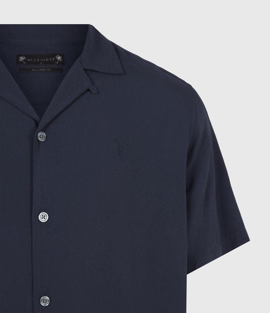 Herren Venice Shirt (ink_navy) - Image 5