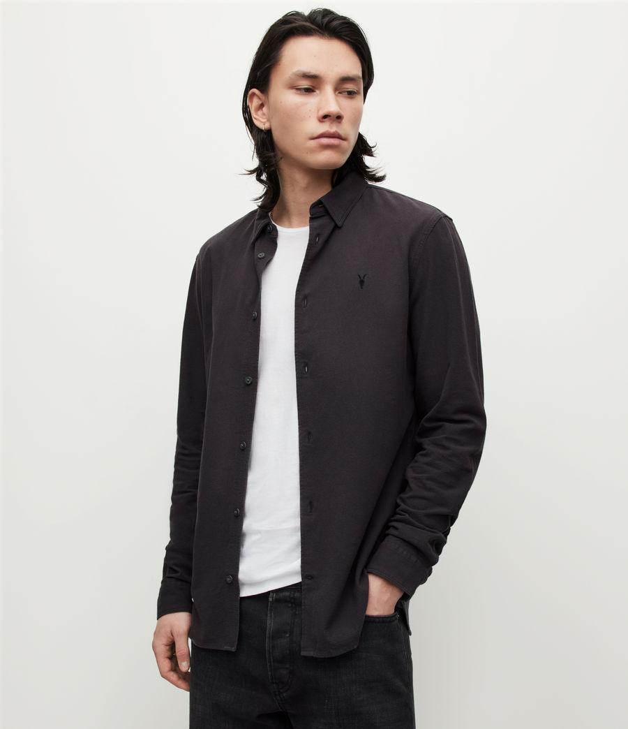 Herren Lovell Shirt (washed_black) - Image 1