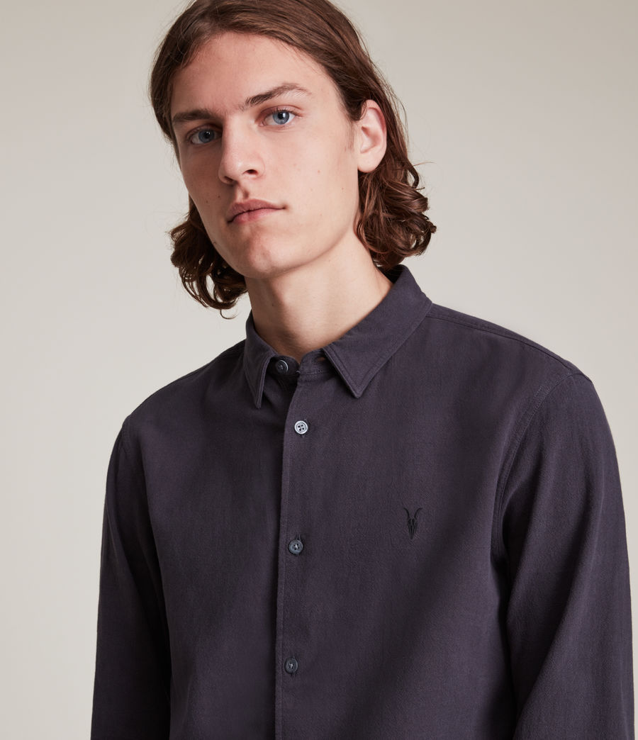 Herren Lovell Shirt (washed_black) - Image 2