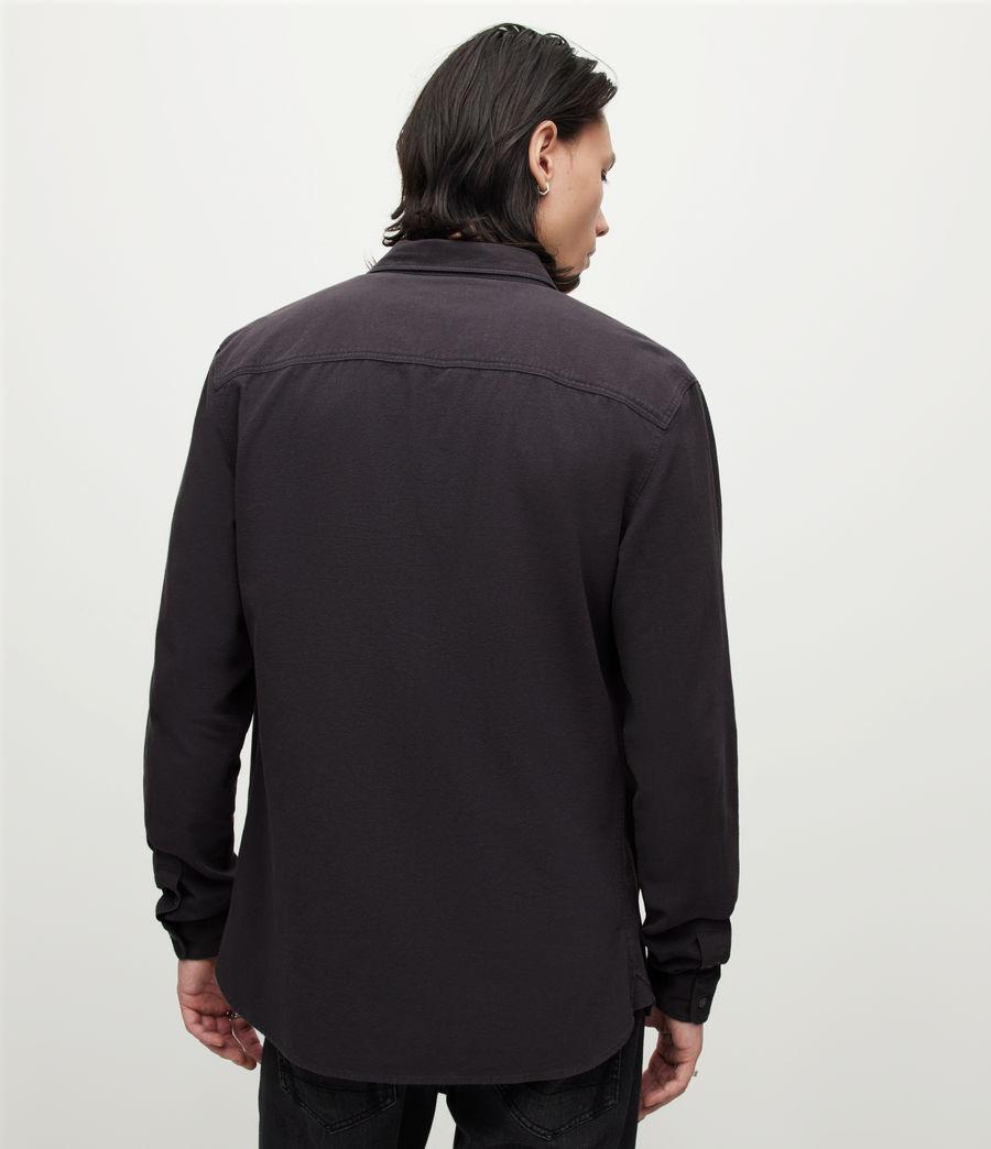 Herren Lovell Shirt (washed_black) - Image 4