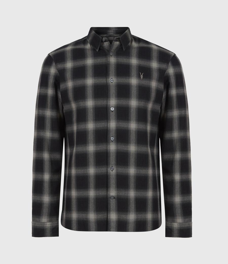 Herren Missoula Shirt (grey_black) - Image 2