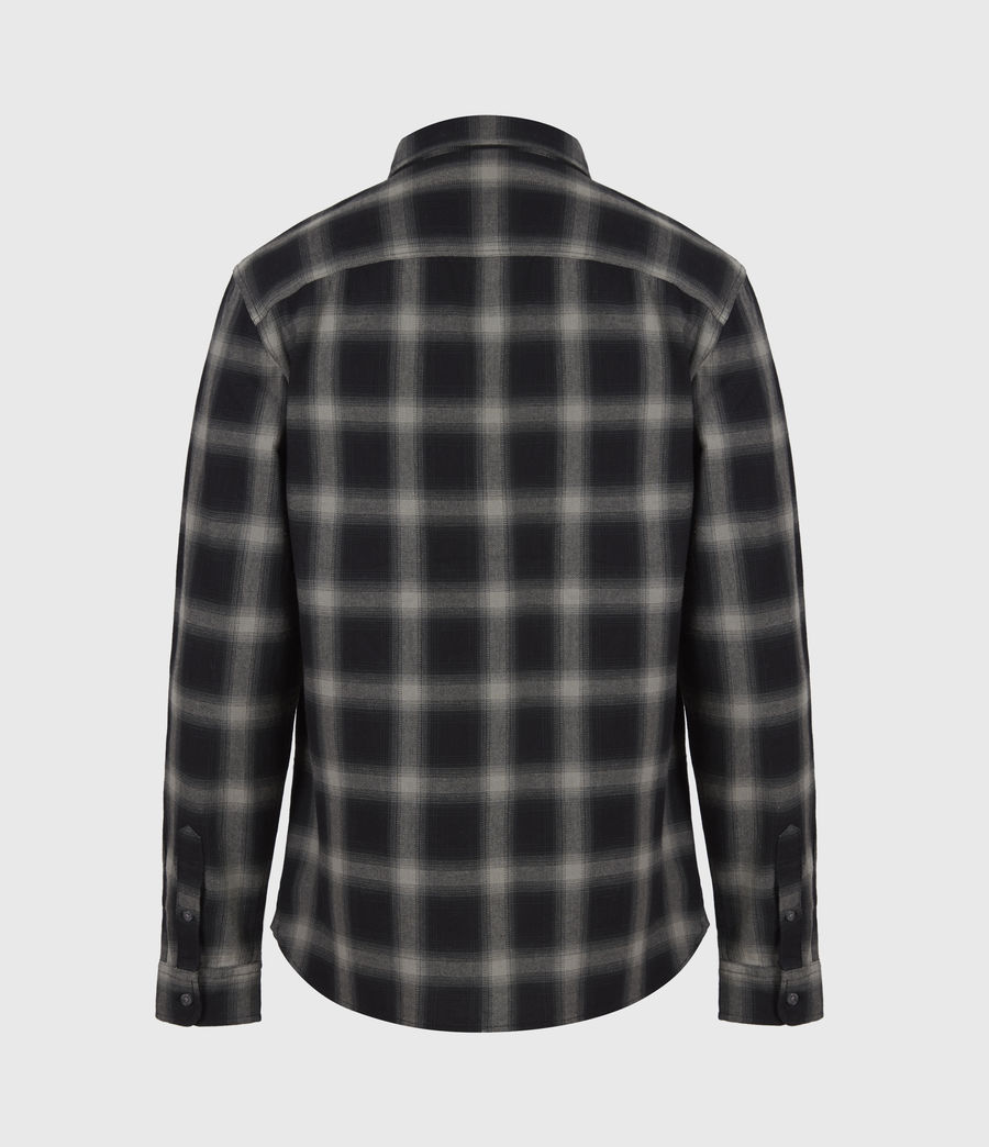 Herren Missoula Shirt (grey_black) - Image 3