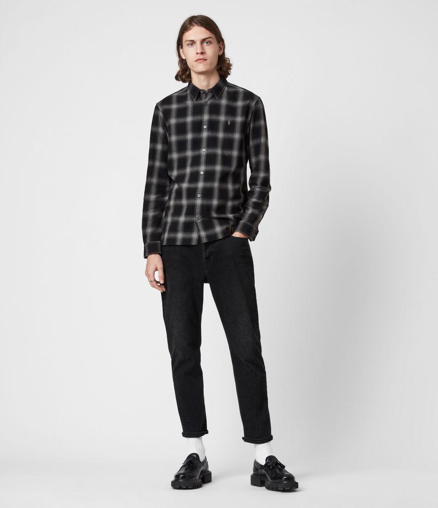 Herren Missoula Shirt (grey_black) - Image 4
