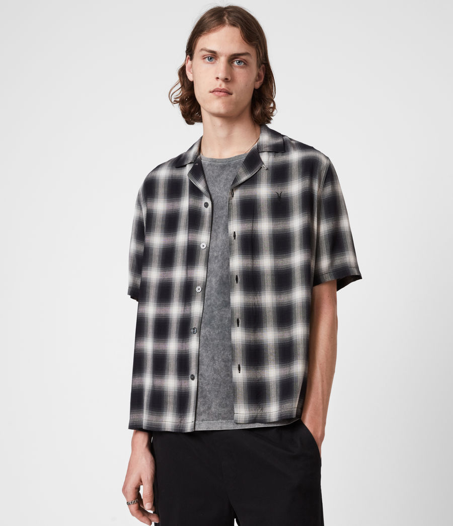 Men's Spokane Shirt (black_white) - Image 1