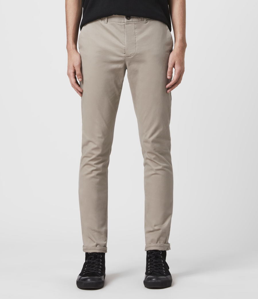 Men's Park Chino (smoke_grey) - Image 1