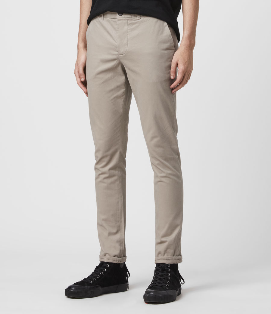 Men's Park Chino (smoke_grey) - Image 4