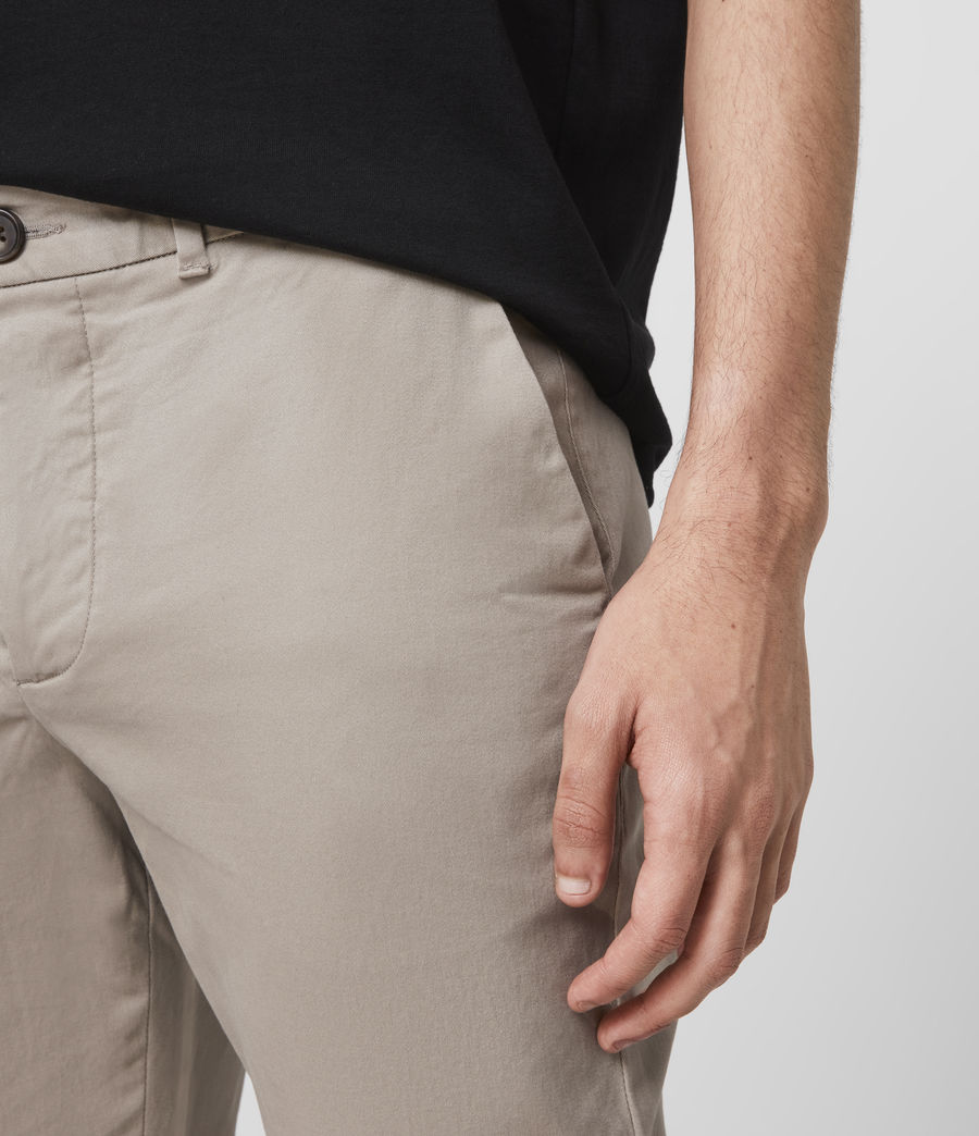 Hommes Chino Skinny Park (sand) - Image 5