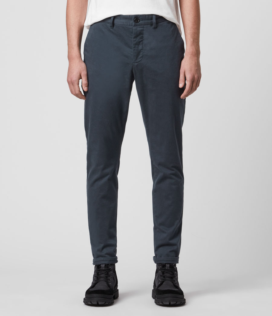Mens Park Chino (workers_blue) - Image 1