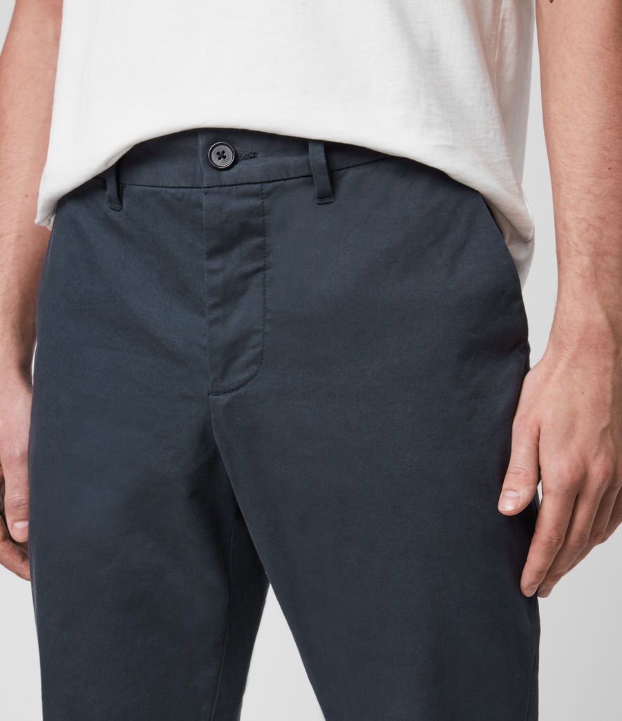 Mens Park Chino (workers_blue) - Image 2