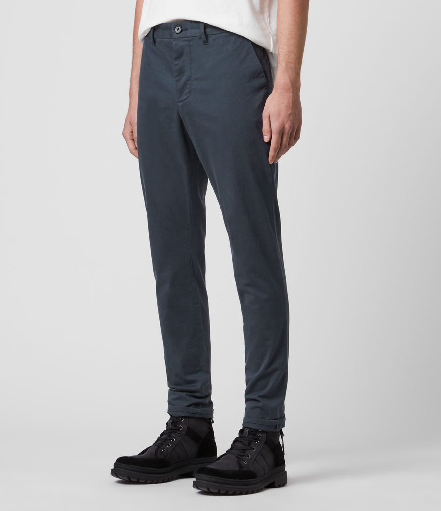 Mens Park Chino (workers_blue) - Image 4