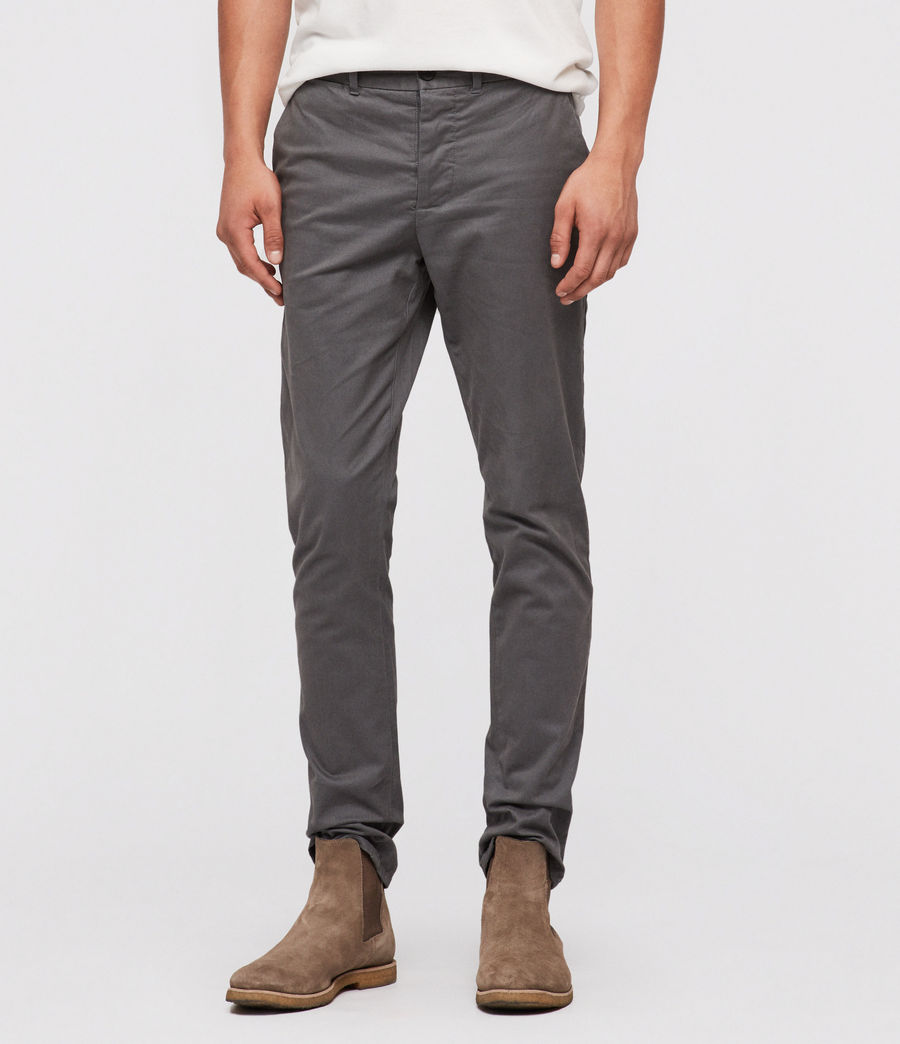 Men's Park Chino (slate_blue) - Image 1