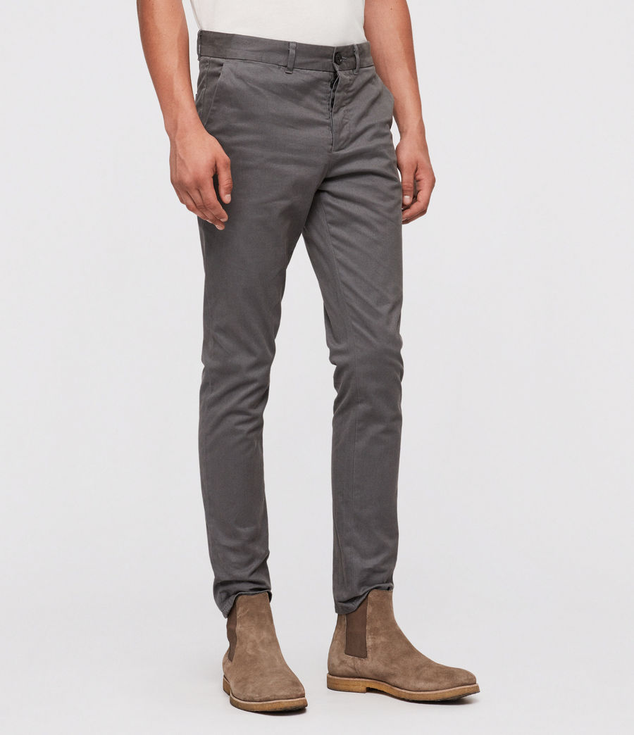 Men's Park Chino (slate_blue) - Image 4