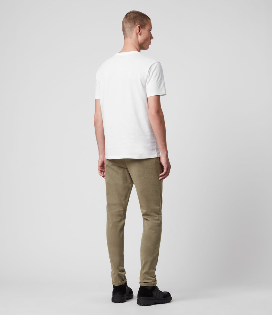 Hombres Park Skinny Chinos (sage_green) - Image 6