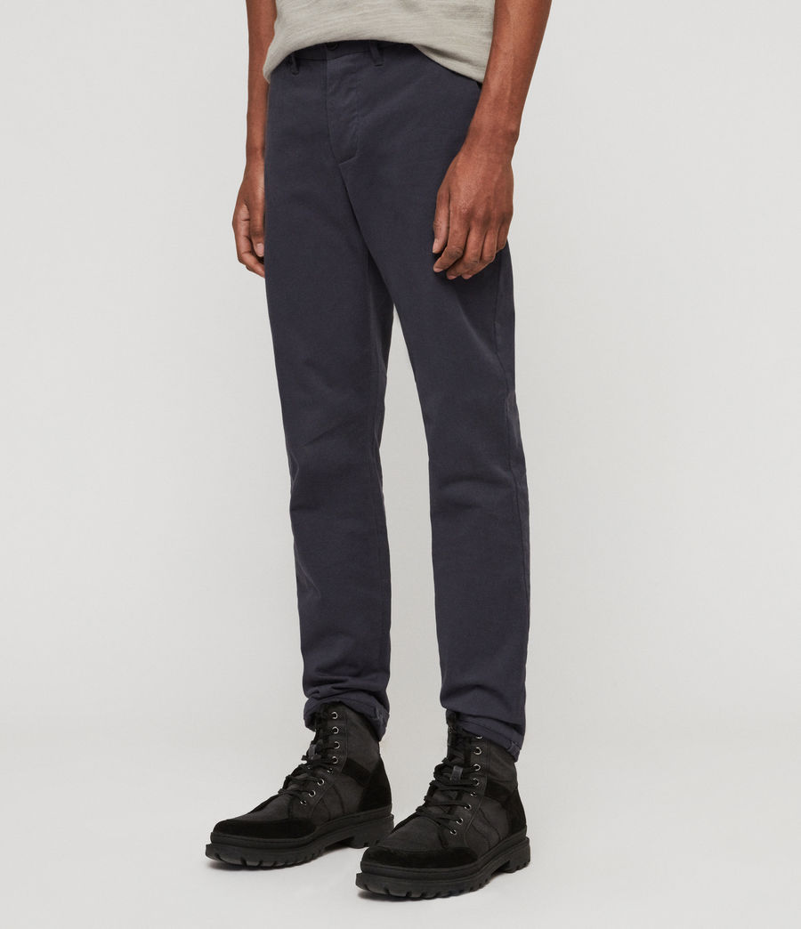 Mens Park Chinos (iron_blue) - Image 3