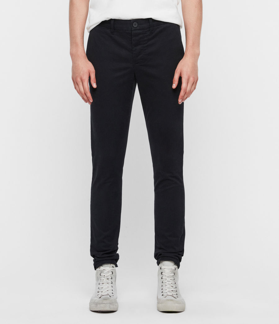 Men's Park Chinos (black) - Image 1