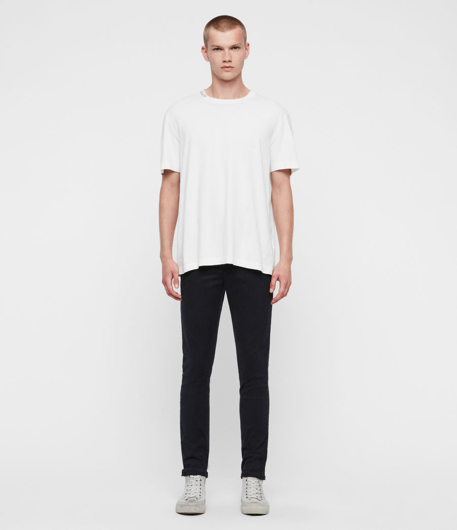 Men's Park Skinny Chinos (black) - Image 3