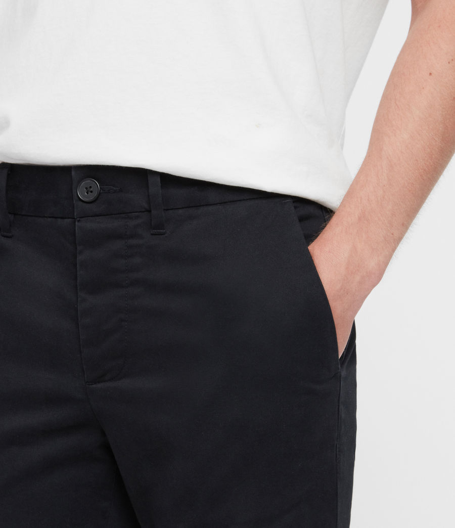 Mens Park Chino (black) - Image 4