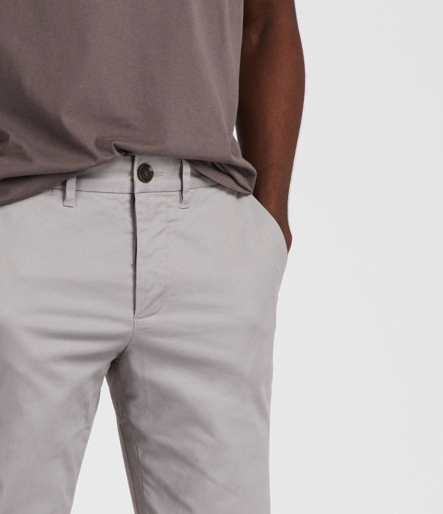 Mens Park Chino (smoke_blue) - Image 2