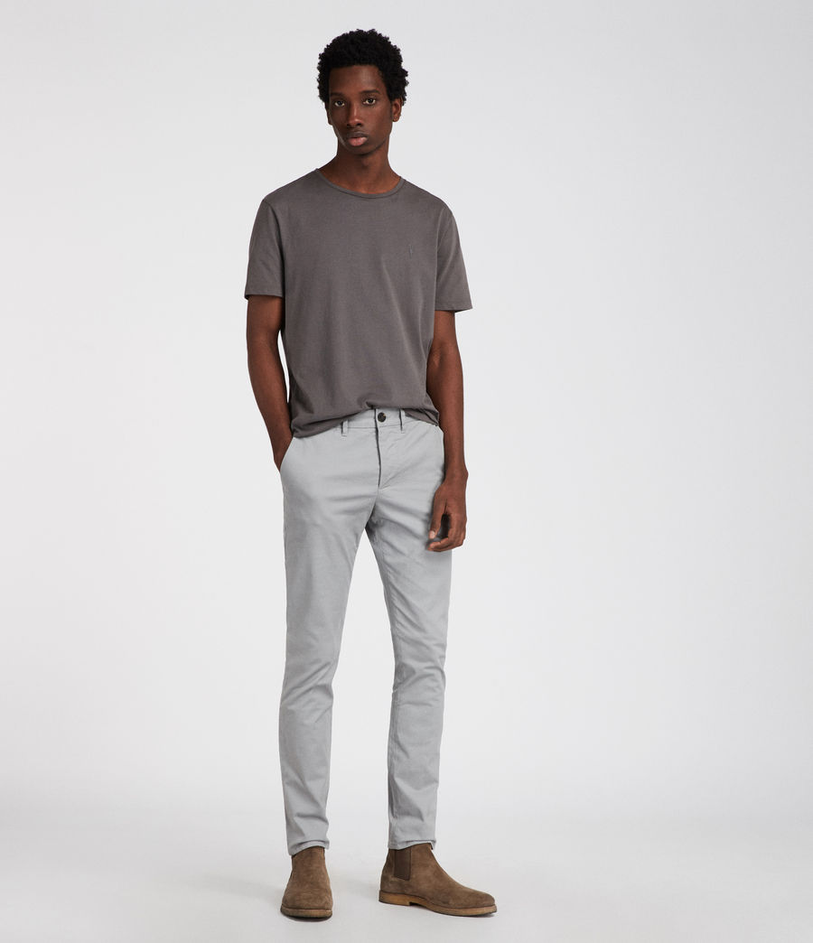 Mens Park Chino (smoke_blue) - Image 3
